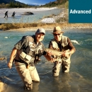 Guiding fly fishing