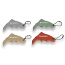 Simms Thirsty Trout Keychain Gold