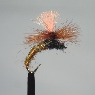 A.P.s Trout & Grayling Magnet Golden Brown #12