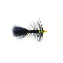 Woolly Bugger Black & Green Gold Nugget #8