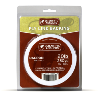 Scientific Anglers Dacron Backing 20 lb Red 100 yards
