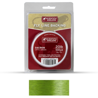 Scientific Anglers Dacron Backing 20 lb Optic Green 100 yards