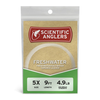 Scientific Anglers Freshwater Leader 9ft. 3X